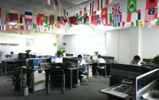 Sales Team Office