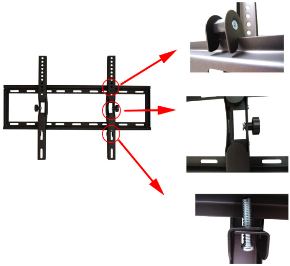 tilt tv bracket china supplier