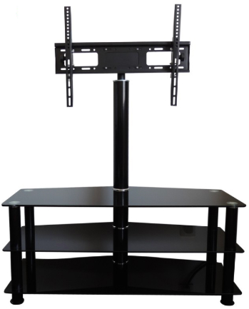 glass tv stand with mount Chinese supplier