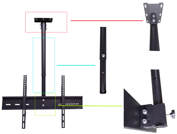 tv ceiling mount china supplier